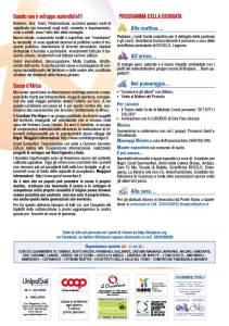 Il programma della giornatae i progetti sostenuti dalla 33esima
